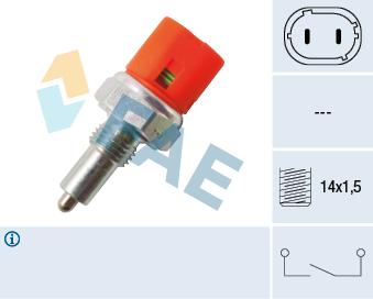 Contacteur de feu de recul FAE 40601 (X1)