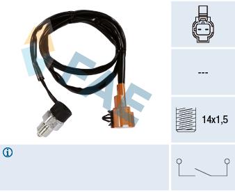 Contacteur de feu de recul FAE 40880 (X1)