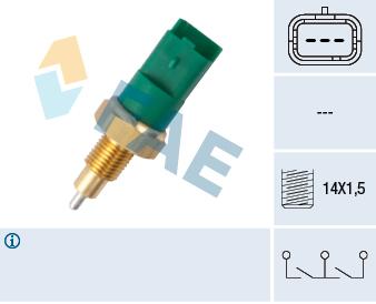 Contacteur de feu de recul FAE 40998 (X1)