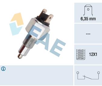 Contacteur de feu de recul FAE 41070 (X1)