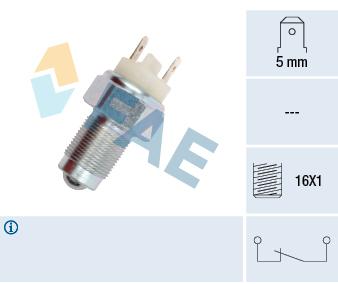 Contacteur de feu de recul FAE 41080 (X1)