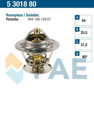 Thermostat/calorstat FAE 5301880 (X1)