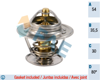 Thermostat/calorstat FAE 5303980 (X1)
