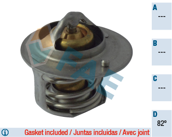 Thermostat/calorstat FAE 5310082 (X1)