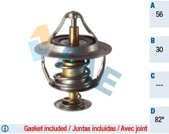 Thermostat/calorstat FAE 5322582 (X1)