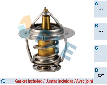 Thermostat/calorstat FAE 5324282 (X1)