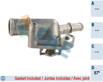 Thermostat/calorstat FAE 5336587 (X1)