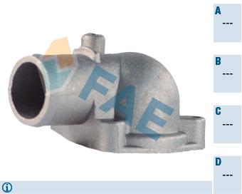 Pieces de thermostat FAE 54327 (X1)