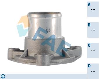 Pieces de thermostat FAE 54329 (X1)