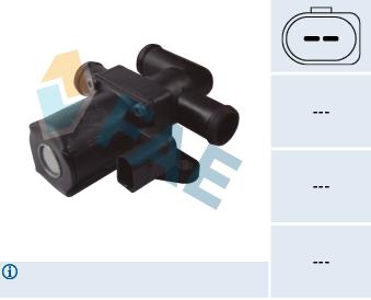 Electrovanne de climatisation FAE 55014 (X1)