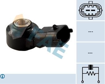 Capteur de cliquetis FAE 60104 (X1)