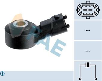 Capteur de cliquetis FAE 60105 (X1)