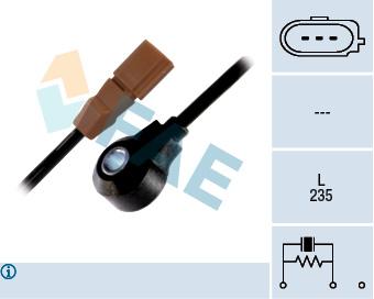 Capteur de cliquetis FAE 60117 (X1)