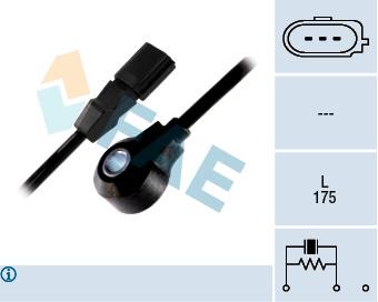 Capteur de cliquetis FAE 60125 (X1)
