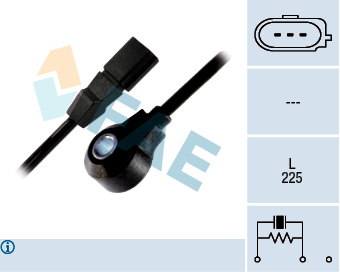Capteur de cliquetis FAE 60126 (X1)
