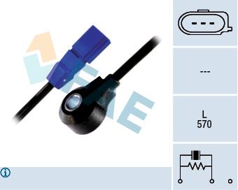 Capteur de cliquetis FAE 60129 (X1)