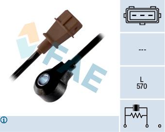 Capteur de cliquetis FAE 60133 (X1)