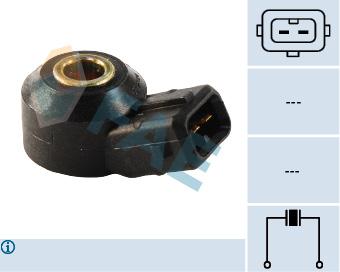 Capteur de cliquetis FAE 60161 (X1)
