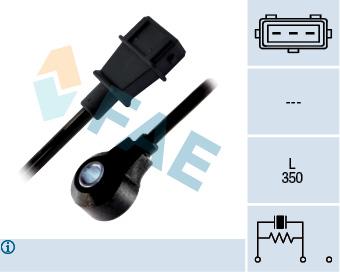 Capteur de cliquetis FAE 60193 (X1)