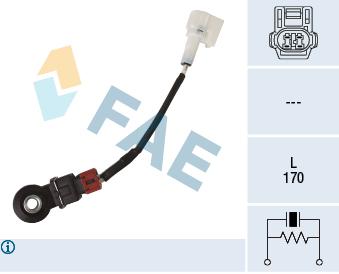 Capteur de cliquetis FAE 60252 (X1)