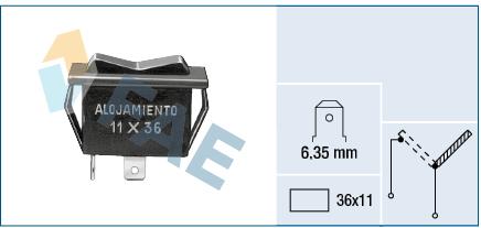 Servo moteur de ventilateur de chauffage FAE 62900 (X1)