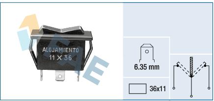 Servo moteur de ventilateur de chauffage FAE 62910 (X1)