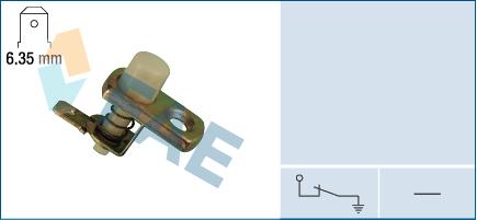 Contacteur de porte FAE 67180 (X1)
