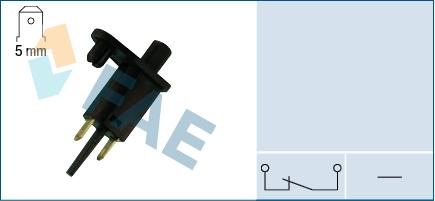 Contacteur de porte FAE 67300 (X1)