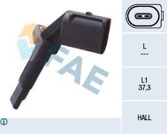 Capteur ABS FAE 78090 (X1)