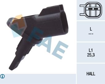 Capteur ABS FAE 78094 (X1)