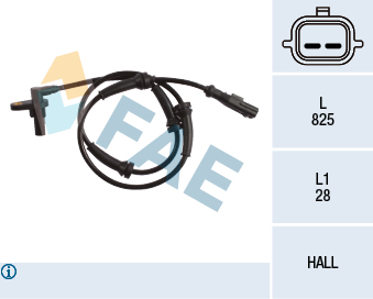 Capteur ABS FAE 78221 (X1)