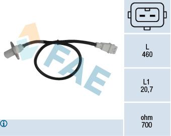 Capteur d'angle FAE 79002 (X1)