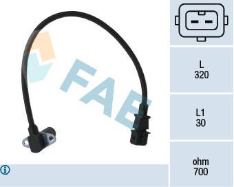 Capteur d'angle FAE 79014 (X1)