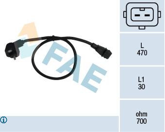 Capteur d'angle FAE 79016 (X1)