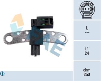 Capteur d'angle FAE 79028 (X1)