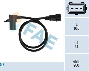 Capteur d'angle FAE 79037 (X1)