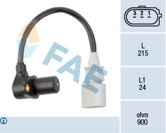 Capteur d'angle FAE 79048 (X1)