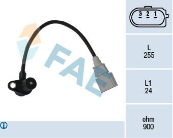 Capteur d'angle FAE 79050 (X1)