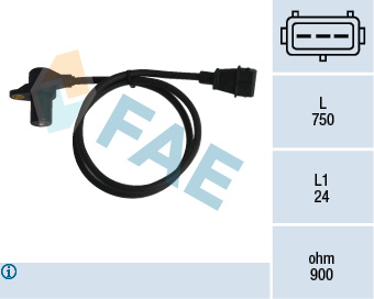 Capteur d'angle FAE 79058 (X1)