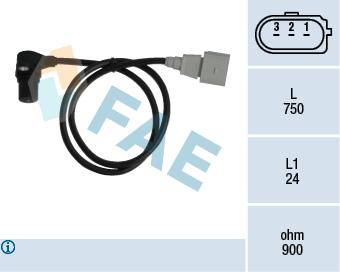 Capteur d'angle FAE 79059 (X1)