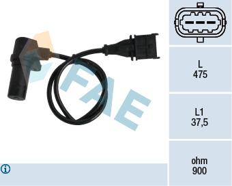 Capteur d'angle FAE 79060 (X1)