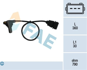 Capteurs/calculateurs/sondes FAE 79061 (X1)