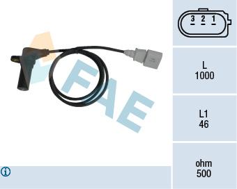 Capteur d'angle FAE 79064 (X1)