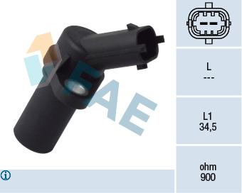 Capteur d'angle FAE 79093 (X1)