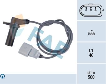 Capteur d'angle FAE 79132 (X1)