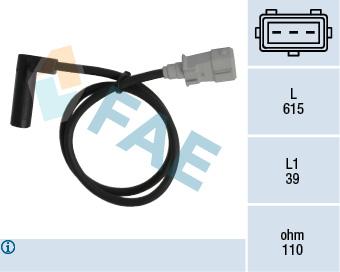 Capteur d'angle FAE 79153 (X1)