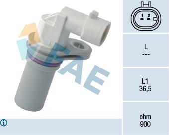 Capteur d'angle FAE 79170 (X1)