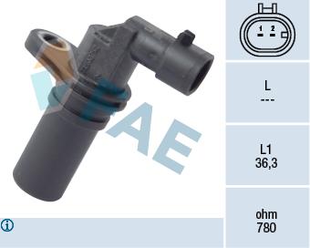 Capteur d'angle FAE 79173 (X1)