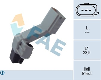 Capteur d'angle FAE 79174 (X1)