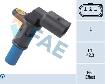 Capteurs/calculateurs/sondes FAE 79176 (X1)